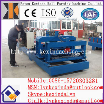 Color Steel Glazed Roof Corrugated Roofing Sheet Machine