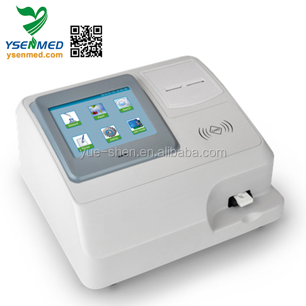 YSTE-50FA guangzhou single channel portable quantitative immunoassay analyzer with low price