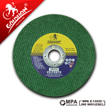 EUROCUT hot sell double net green color 4 cutting disc wheel abrasives cut off wheel 105x1.2