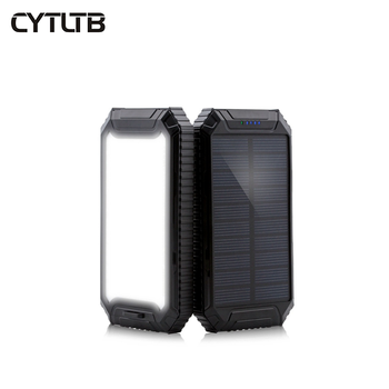 Customize Best Price Smart Phone Powerbank Solar Led Display Screen Slim Fashion Power Bank Solar