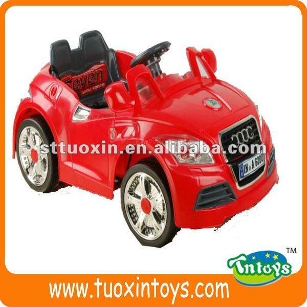two seat ride on toy car, children manual ride on car, children plastic ride-on car
