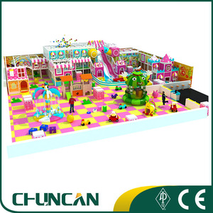 Children indoor play equipment commercial hospital waiting center play set