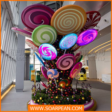 Shopping Mall New Design Lovely Candy Tree Creative Crafts