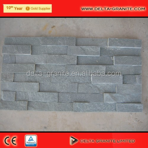 Grey quartzite Culture wall panel