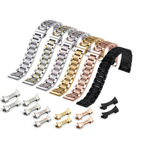 OEM Watch band 304 Solid Stainless Steel Metal Watch Strap