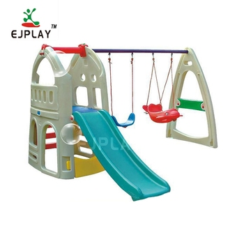 Low Price Children 3-15 year Plastic Playground Slides Equipment