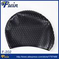 Guangzhou factory supplier high grade silicone bubble swim caps