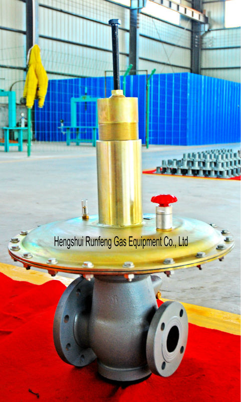 Natural Gas Pressure Regulator Used for Commercial& Industry Line