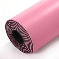 Wholesale Extra Thick Eco Friendly PVC,NBR,TPE,EVA,PU Yoga Mat with Yoga Strap