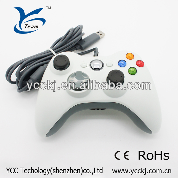 USB wired gamepad Controller Joystick joypad For XBOX 360 PC