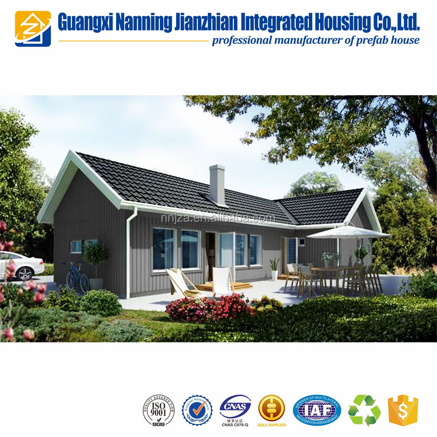 China Modern European Style Model Prefab Luxury Kit House Villas