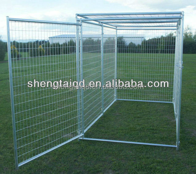 hot dip galvanized beautiful large pet kennels pet cage for dog