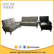 China manufacture modern design factory price home design imports furnitureleather sofa set