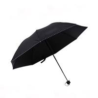 High Quality Windproof Auto Open Golf Folding Umbrella For Promotion
