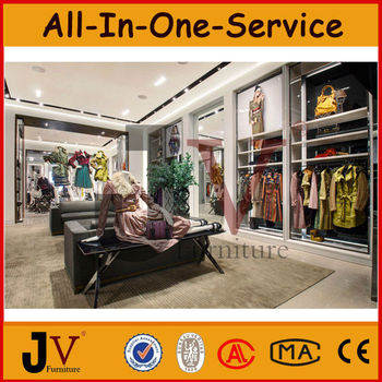Good Furniture For Clothing Retail Store Cloth Display Racks