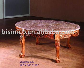 Tavolo Ovale Antico : Tavolo ovale in marmo top antico tavolino tavolo in legno massello