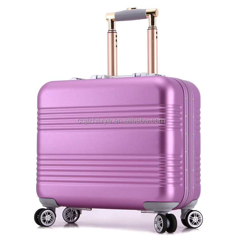 18inch High quality Luggage Suitcase, Flight Aluminum Trolley Case