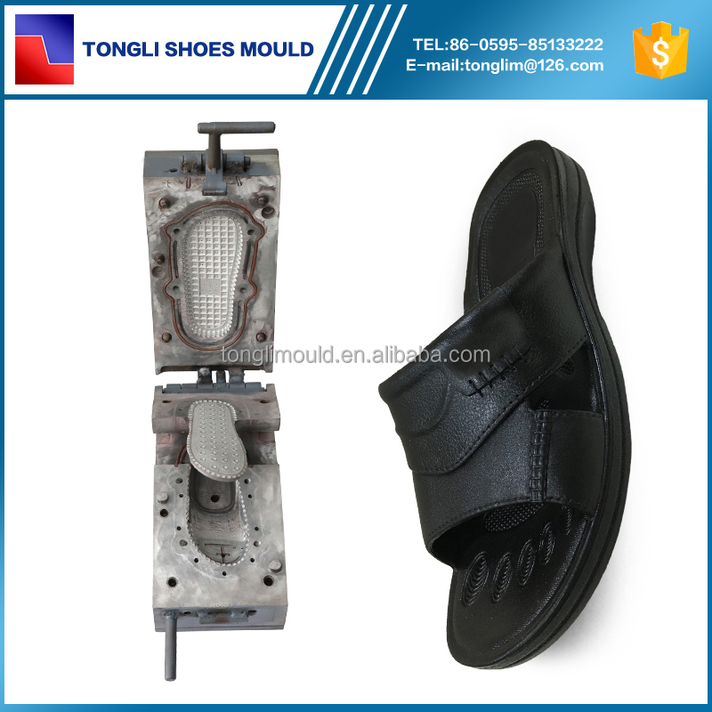 Tongli PVC Air Blowing Men Shoes Slipper Mould Factory