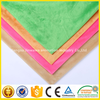Good price of printed velvet fabric/micro velboa fabric/velour With Professional Technical Support