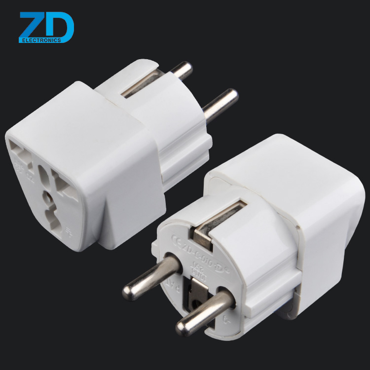 German to UK US EU UA NZ Universal nation adapter traveling business travel universal adapter with plugs