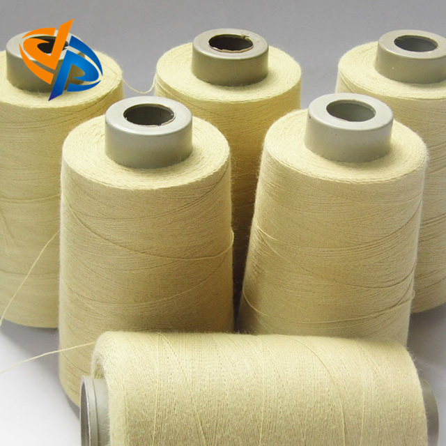 T-60 30//3 Threads USA Spun Kevar® Spool 4000 Yards Natural Yellow