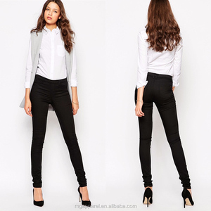 ee21c5fd4849 Wholesale Fashion Women s Jean Legging Black Ladies Jeggings