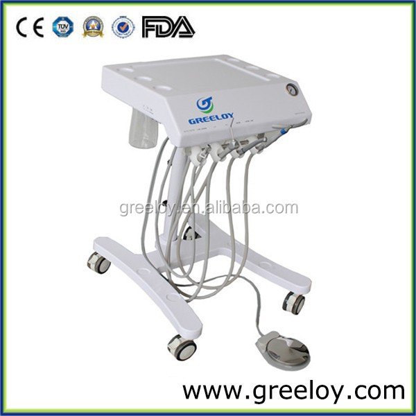 China Mobile Dental Cart with fast and low handpiece