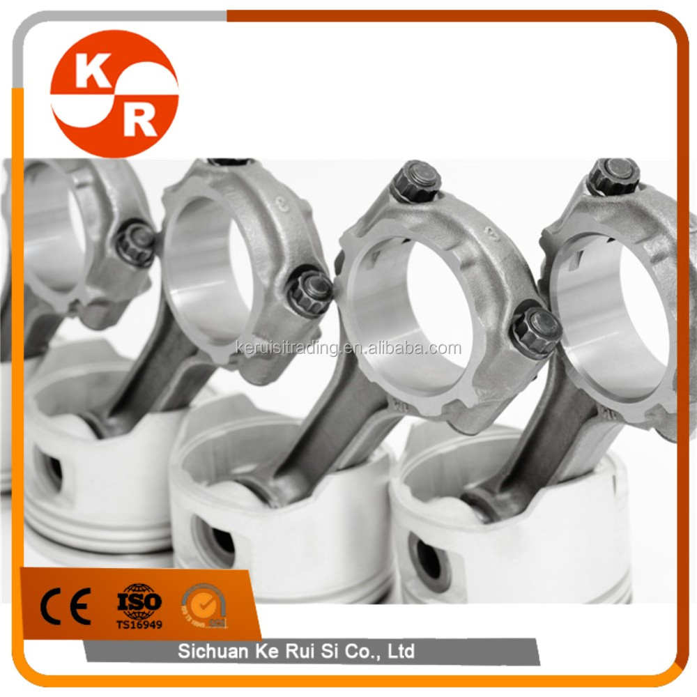 KR Custom Forged 4340 Conrods for Toyota 4E-FTE 1.3T 118mm connecting rods manufactures