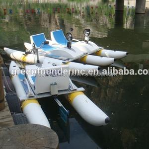 fiberglass water bikes pedal boats, pedalo, swan pedal boat price