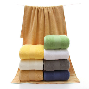High Quality 100% Cotton Bath Towel In Factory Price