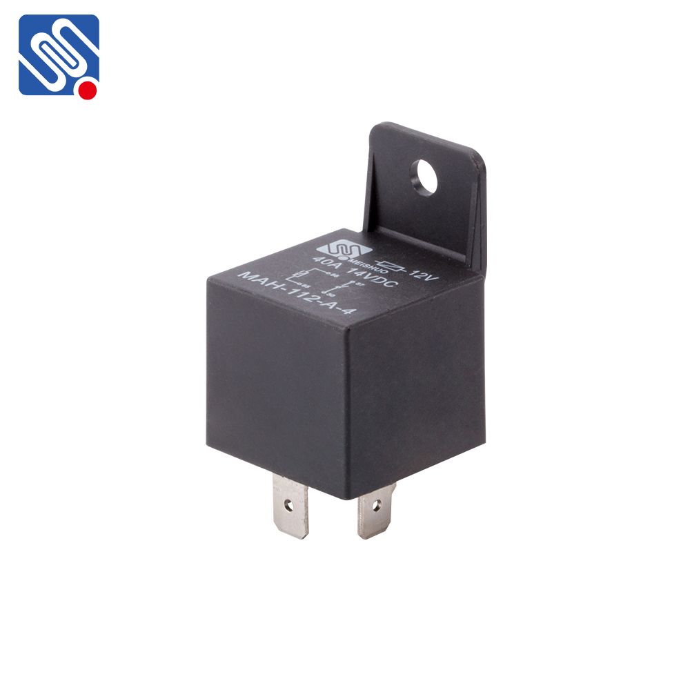 Meishuo MAH Good quality auto relay 12v/40a 24V 60A 4PIN 5PIN Waterproof power relay 30a t90 automotive relay for car spare part