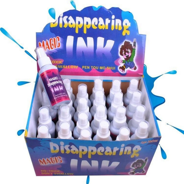 New Fancy Disappearing Magic Ink Funny Trick Toys Joke Toy