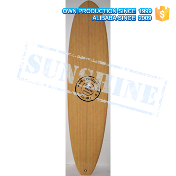 Epoxy Wooden Surfboards Wooden Long Board Surf board made in China