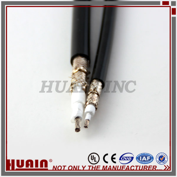 rf coaxial PTFE custom Insulated cat5 cable price per meter
