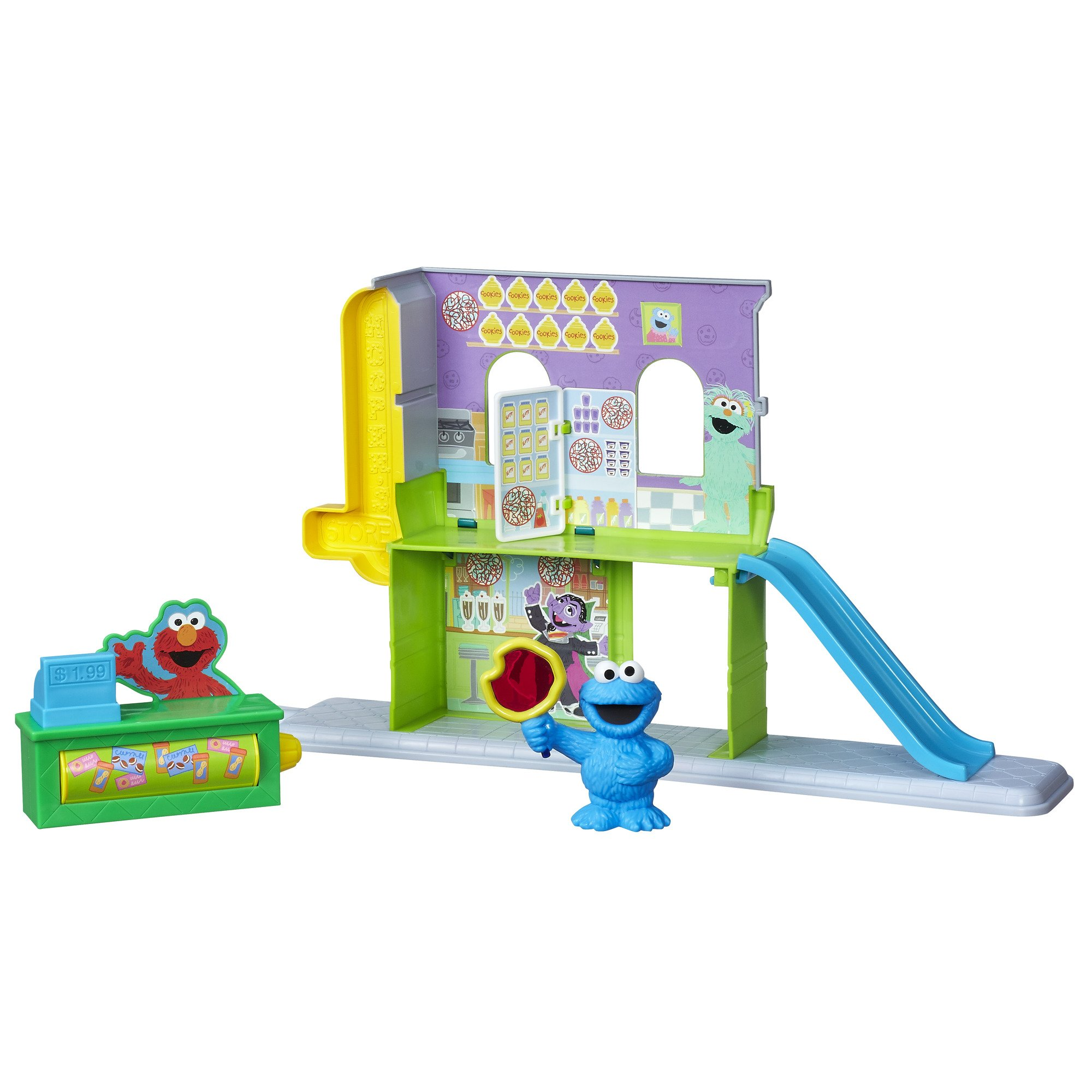 Buy Sesame Street The Furchester Hotel Playset With Figures in Cheap ...