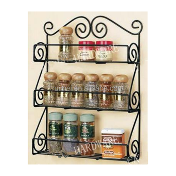 Attractive Practical Wall Mounted Kitchen Utensil Rack