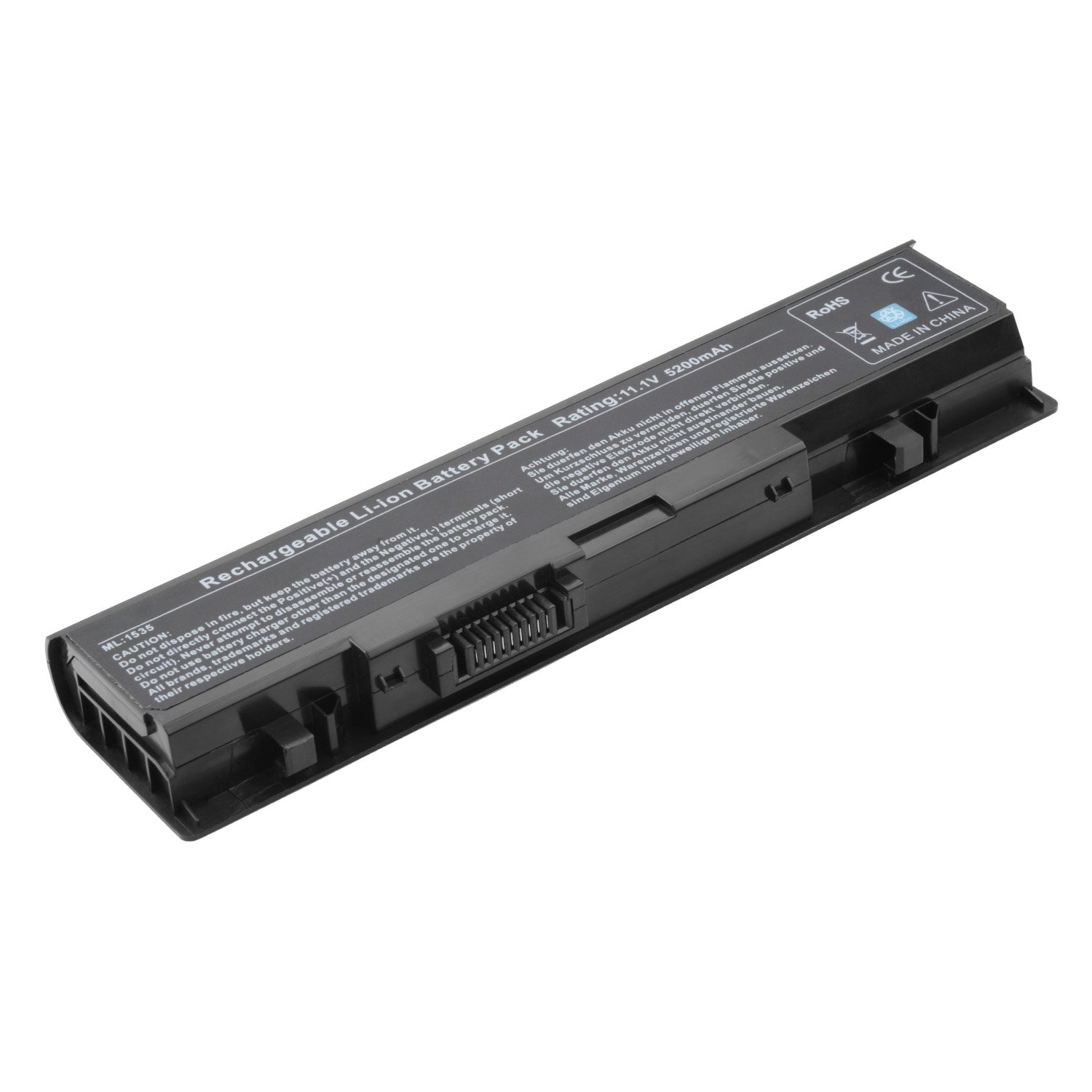 TAUPO Replacement Laptop Battery for Dell Studio WU946 1558 1555 1537 1535 PP39L PP33L 1536, fits P/N WU946 MT264 - 12 Months Warranty