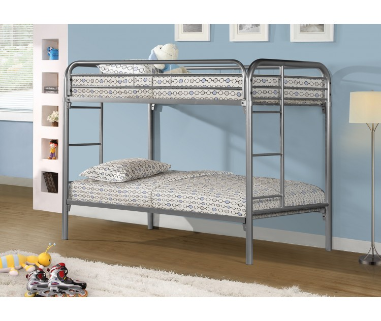 Funiture Square Tube Metal Bunk Beds For Dormitory Universities