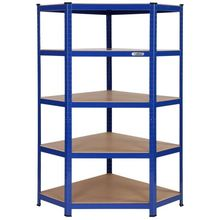 key lock corner unit shelves