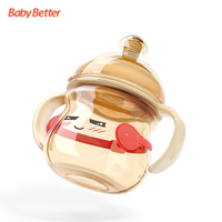 Baby Product Antibacterial BPA Free PP Adult anti colic Baby Feeding Bottle wholesale baby bottles with Thermometer