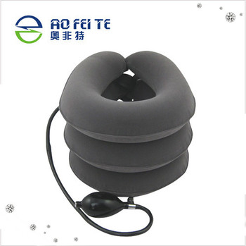 New Manufacturer Medical Equipment 3 Layers Air Neck Traction Relive Pain Cervical Neck Traction Device