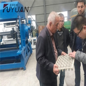 Henan zhengzhou 3000-5000 pcs/h waste carton paper pulp recycled moulding egg tray making machine