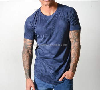Customized Suede t shirts, Mens Suede tee shirts with your own logo, Wholesale Raglan Sleeve Suede tshirts