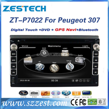 Auto electronics double din car dvd gps for Peugeot 307 multimedia car dvd player with gps bluetooth tv