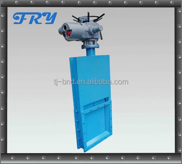 Z15 18T multi turn high temperature motorized electric flow control gate valve