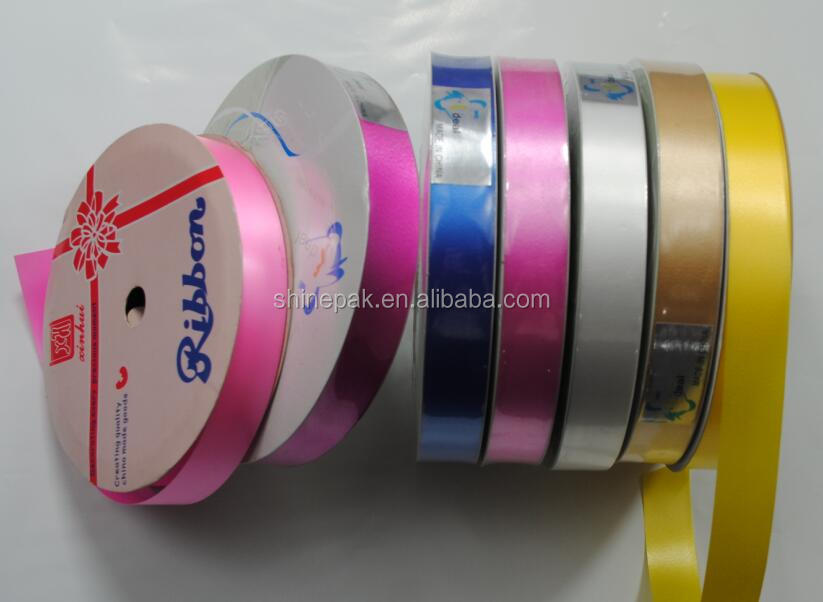 manufacturing solid plastic pp ribbon