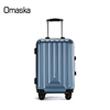 2017New Style Fashion Aluminium Trolley Light Weight Waterproof PC 20 24 inch Brake Wheels Travel Luggage Suitcase