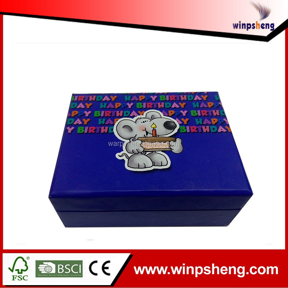 Fashionable Design Custom Fancy Handmade Candy Box Package For Gift