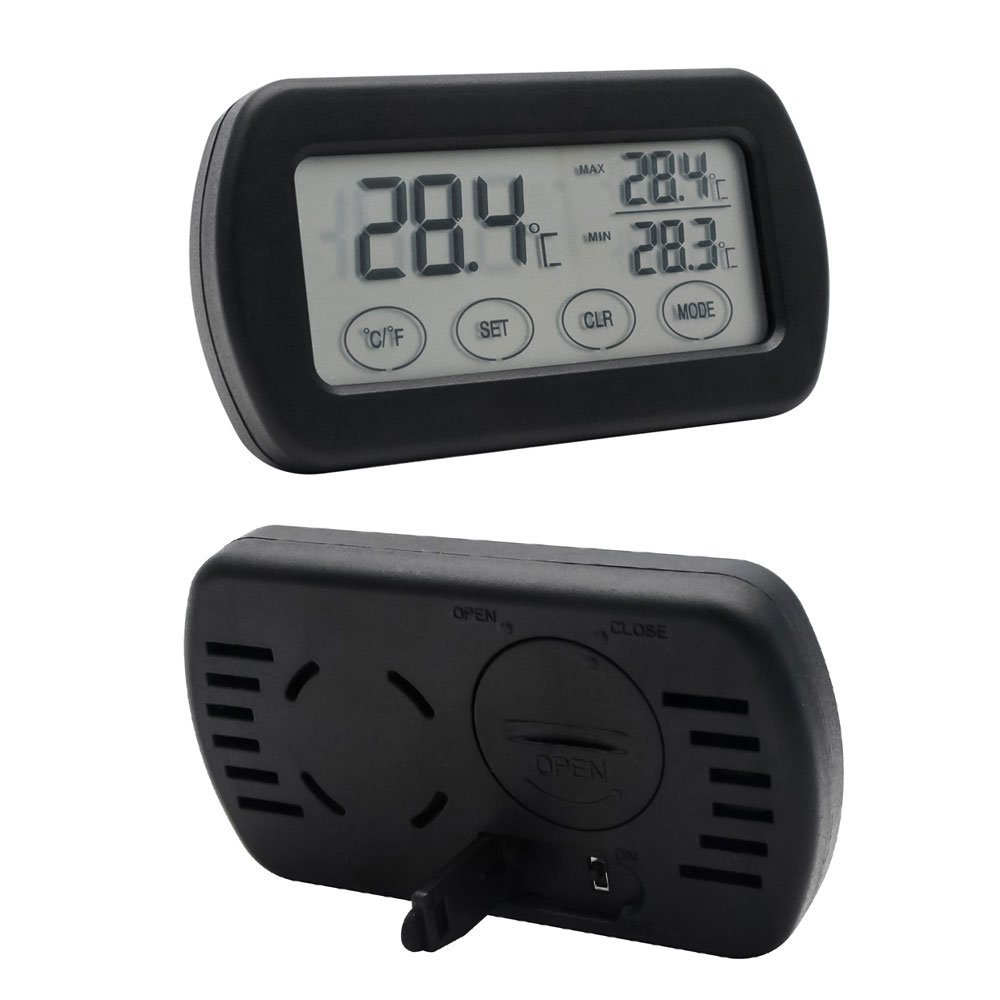Touch screen alarm thermometer for household digital thermometer hygrometer   DTH-115