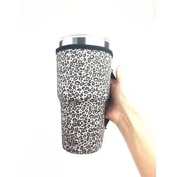 New Arrival  30oz Stainless Steel Bottle Neoprene Handle Water Bottle Sleeve